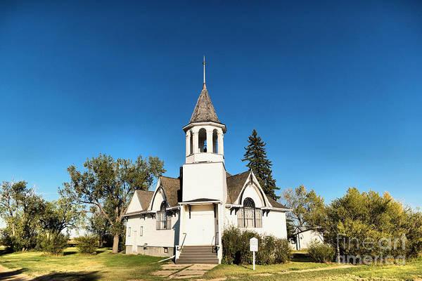 Isolator Wall Art - Photograph - Church In Saskatchewan  by Jeff Swan