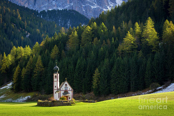 Wall Art - Photograph - Church In The Mountains by Brian Jannsen