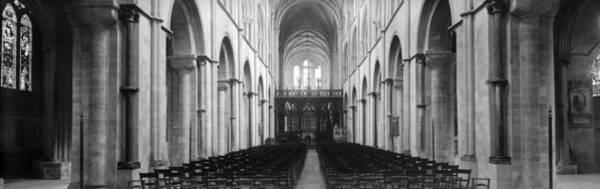 Wall Art - Photograph - Church Interior by Alfred Hind Robinson