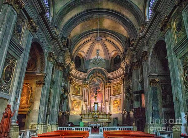 Photograph - Church Of Francis Of Paola Nice France by Wayne Moran