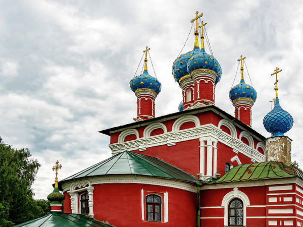 Photograph - Church Of Saint Dmitry On The Blood, Uglich, Russia by Kay Brewer