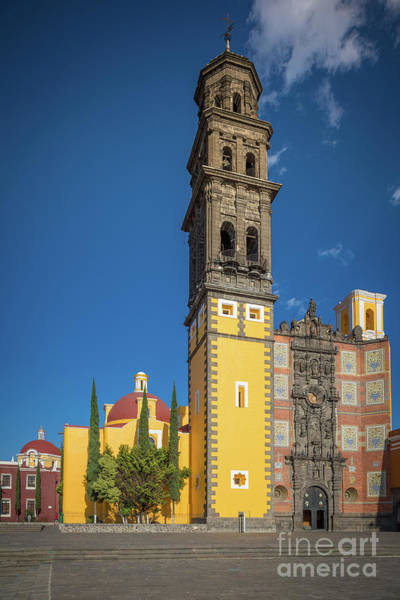 Wall Art - Photograph - Church Of San Francisco In Puebla by Inge Johnsson