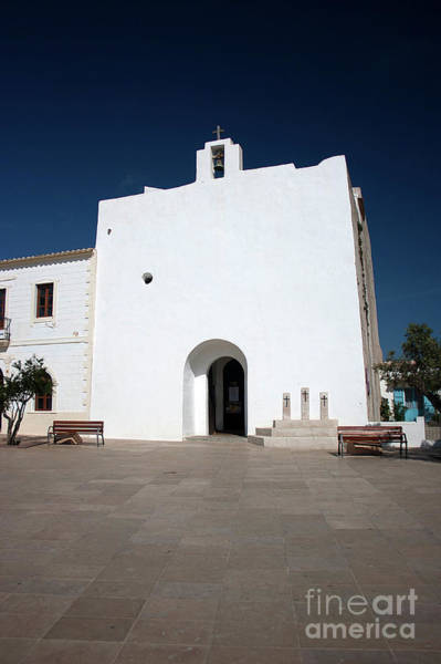 Baleares Photograph - Church Of Sant Francesc Xavier, Formentara by John Edwards