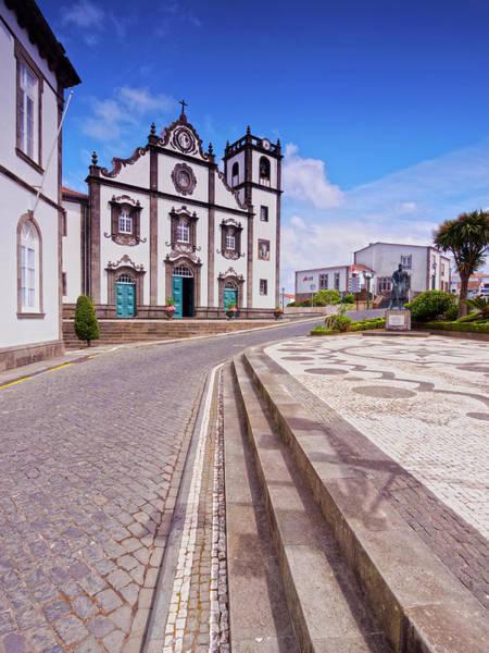 Wall Art - Photograph - Church Of Sao Jorge Nordeste Sao Miguel Island Azores Portugal by imageBROKER - Karol Kozlowski
