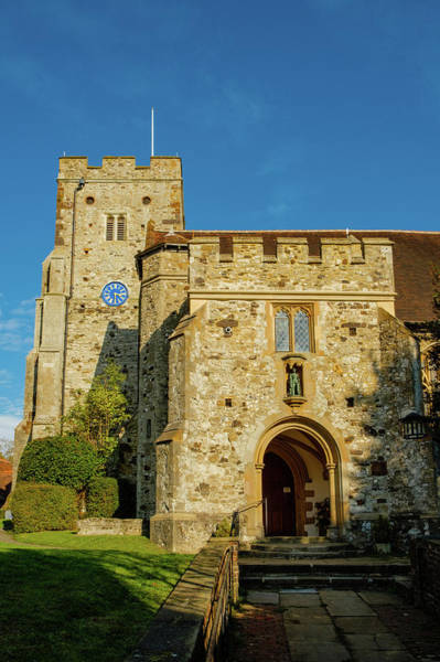 Wall Art - Photograph - Church Of St George, Wrotham, Kent by Mark Summerfield