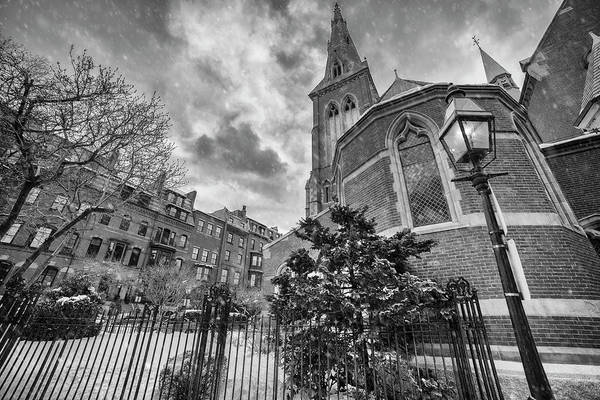 Photograph - Church Of The Advent - Beacon Hill by Joann Vitali