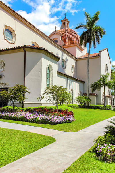 Photograph - Church Of The Little Flower Series 0224 by Carlos Diaz