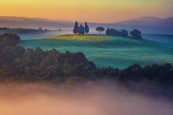 Photograph - Church On The Hill by Evgeni Dinev
