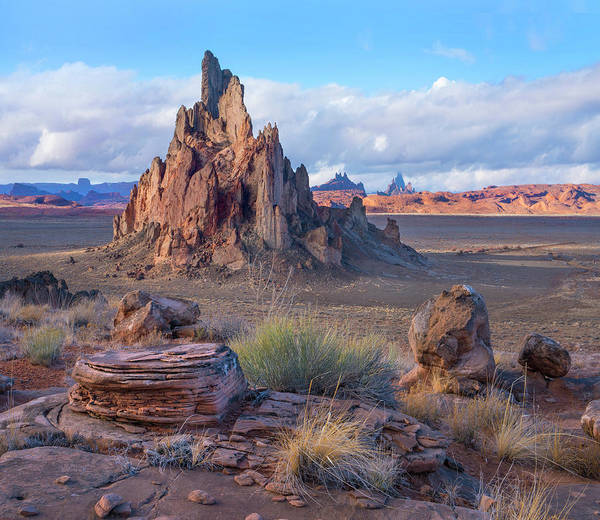 Photograph - Church Rock, Monument Valley, Arizona by