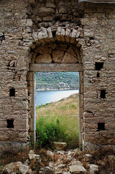 Cyprus Wall Art - Photograph - Church Ruins by Self Taught Photographer