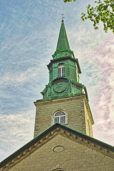 Photograph - Church Steeple by Meta Gatschenberger