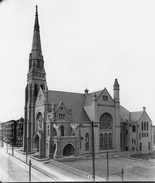 Church Photograph - Church by The New York Historical Society
