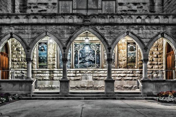 Photograph - Church Walkway by Sharon Popek