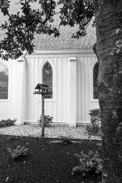 Photograph - Church With Bird House by Rudy Umans