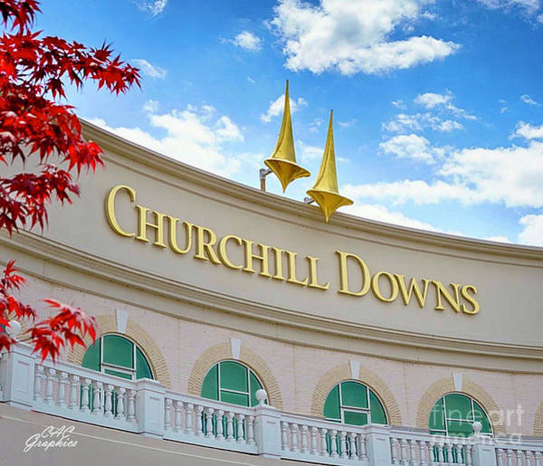 Photograph - Churchill Downs 1 by CAC Graphics