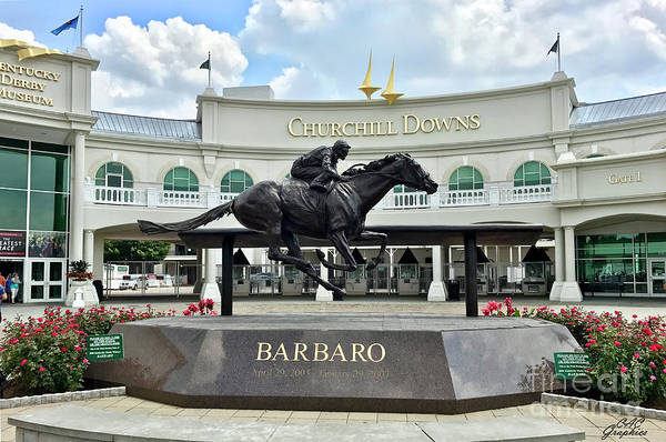 Photograph - Churchill Downs Barbaro by CAC Graphics