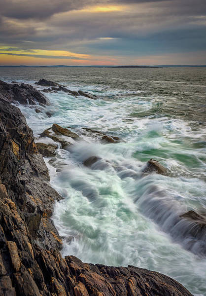 Photograph - Churning Waves At Giant's Stairs by Kristen Wilkinson