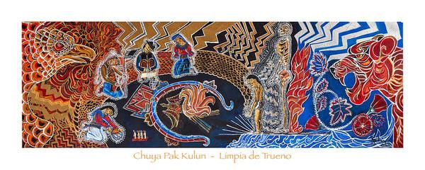 Acrilic Painting - Chuya Pak Kulun by Santiago Andrade Leon