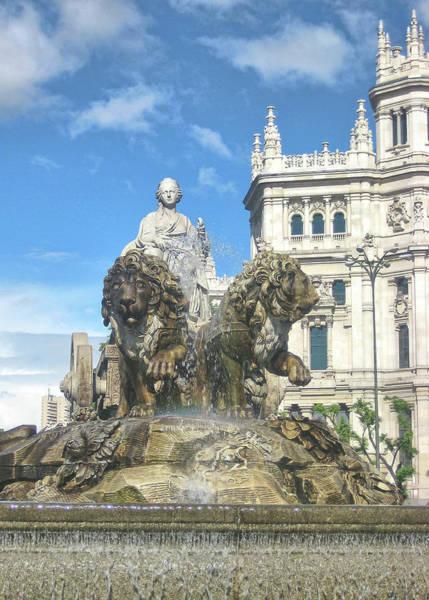 Photograph - Cibeles Fountain by Jamart Photography