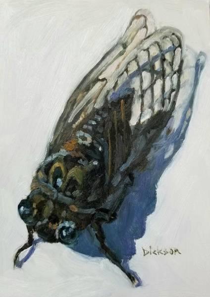 Painting - Cicada by Jeff Dickson
