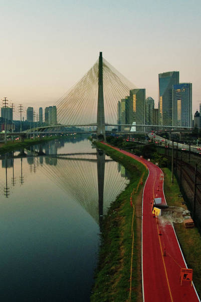 Brazil Photograph - Ciclovia Em Obras by Tatianasapateiro Sp Brazil