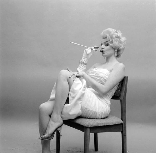 Bleached Photograph - Cigarette Holder by Jacobsen