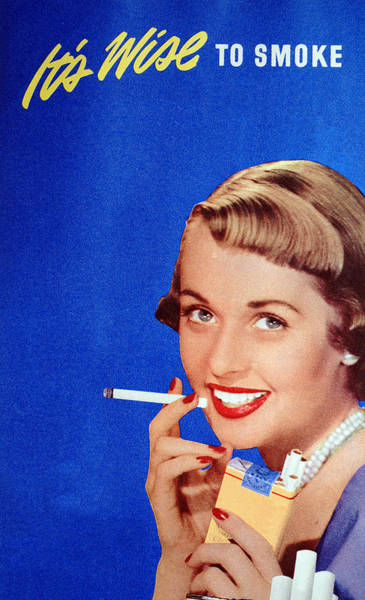 Wall Art - Photograph - Cigarette Illustration by Graphicaartis