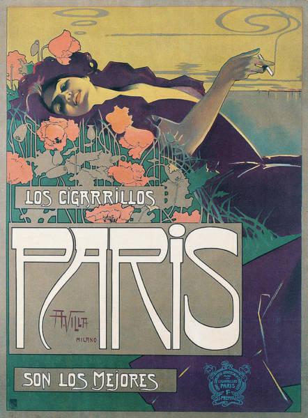 Cigarrillos Poster By Villa Art Print