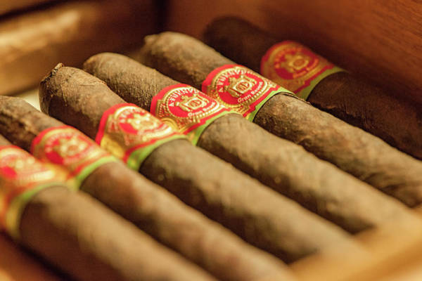 Photograph - Cigars by Mark Duehmig