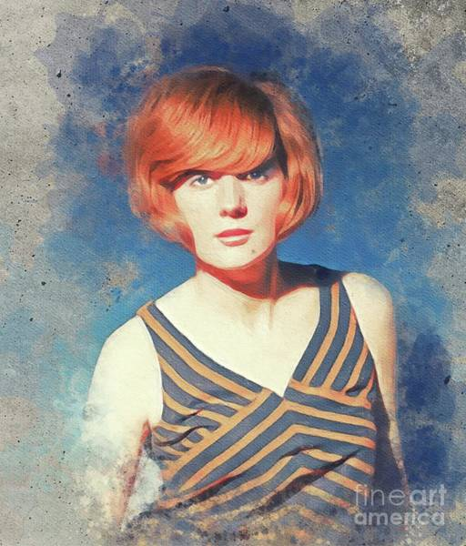 Wall Art - Painting - Cilla Black, Music Legend by John Springfield