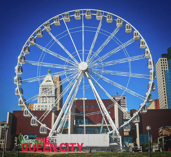 Wall Art - Photograph - Cincinnati Ferris Wheel by Pixabay