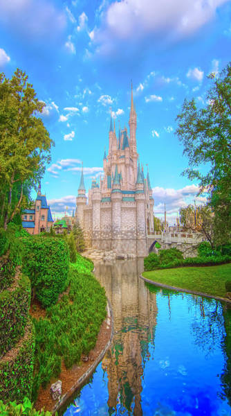 Wall Art - Photograph - Cinderella's Castle by Mark Andrew Thomas