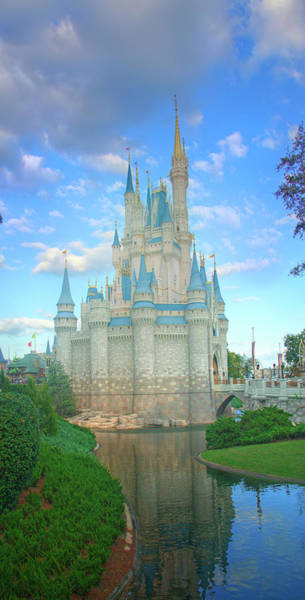Wall Art - Photograph - Cinderella's Storybook Castle by Mark Andrew Thomas