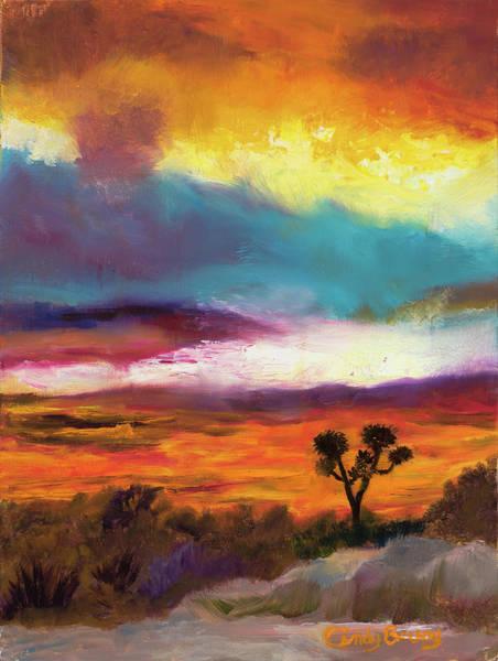 Cindy Beuoy - Arizona Sunset Art Print