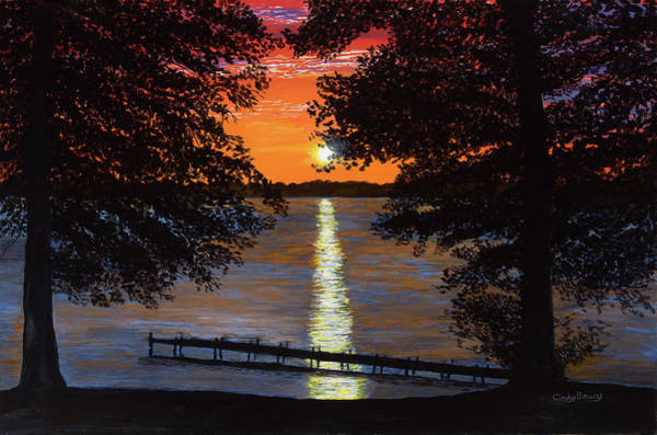 Cindy Beuoy - Lake Maxinkuckee Art Print