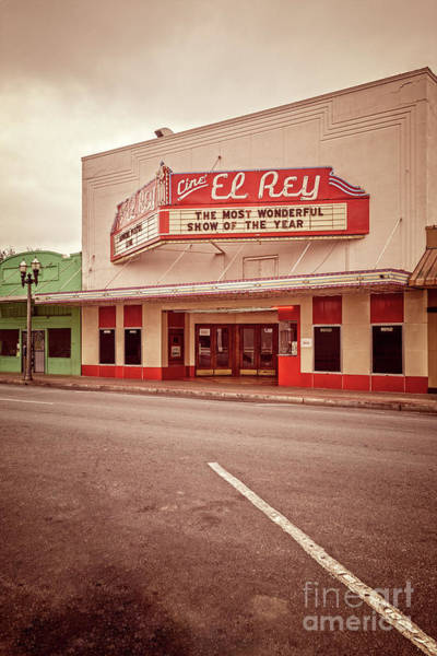 Photograph - Cine El Rey Theater by Imagery by Charly