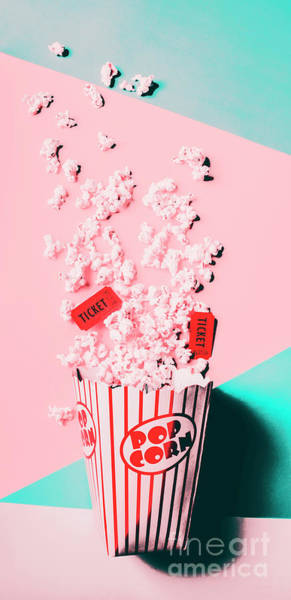 Ticket Photograph - Cinema Pop by Jorgo Photography - Wall Art Gallery