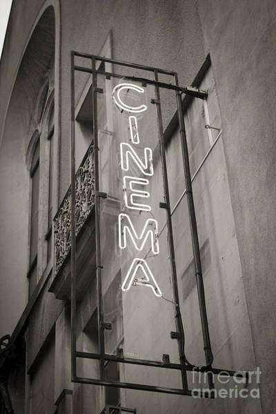 Show Photograph - Cinéma De Quartier by Thomas Pajot