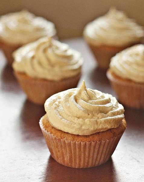 Cupcake Photograph - Cinnamon Cupcakes by Aparna Balasubramanian