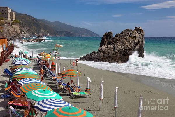 Photograph - Cinque Terre Beach by Brian Jannsen