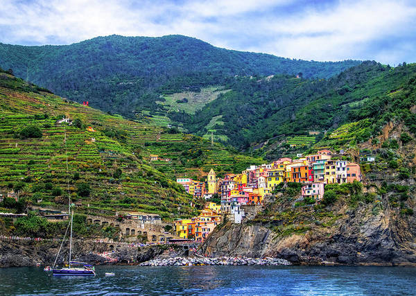 Photograph - Cinque Terre Village Of Manarola by Carolyn Derstine