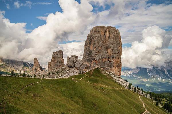 Photograph - Cinque Torri by James Billings