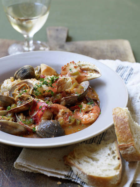 Healthy Lifestyle Photograph - Cioppino by James Baigrie
