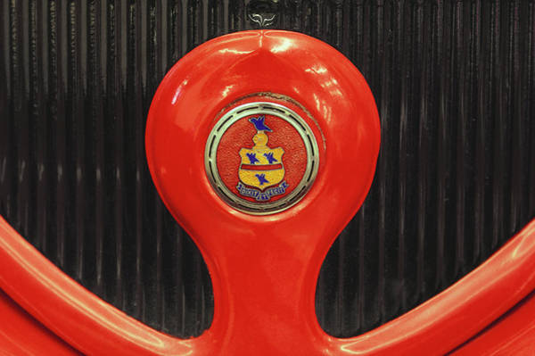 Sport Car Photograph - Circa 1930s Pierce Arrow Grill Detail by Car Culture