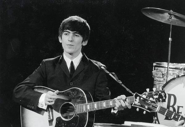Wall Art - Photograph - Circa 1963. George Harrison Of The by Popperfoto