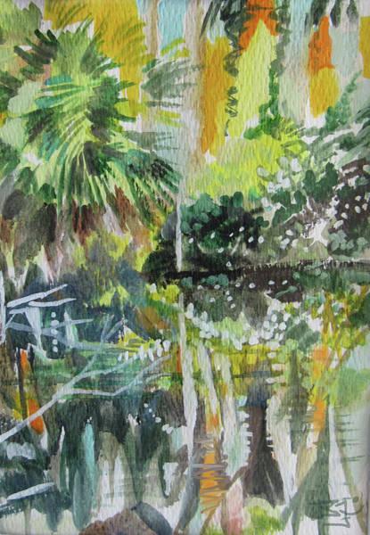 Painting - Circle B Bar  Reserve, Lakeland, Fl by Jean Batzell Fitzgerald