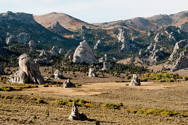 Wall Art - Photograph - Circle Creek Basin In City Of Rocks by William Mullins