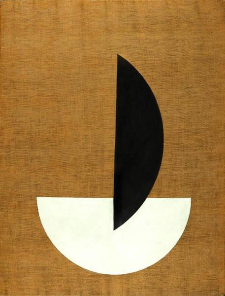 Wall Art - Painting - Circle Segments by Laszlo Moholy-Nagy