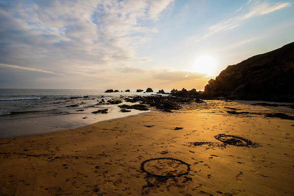 Wall Art - Photograph - Circles In The Sand by Martin Newman