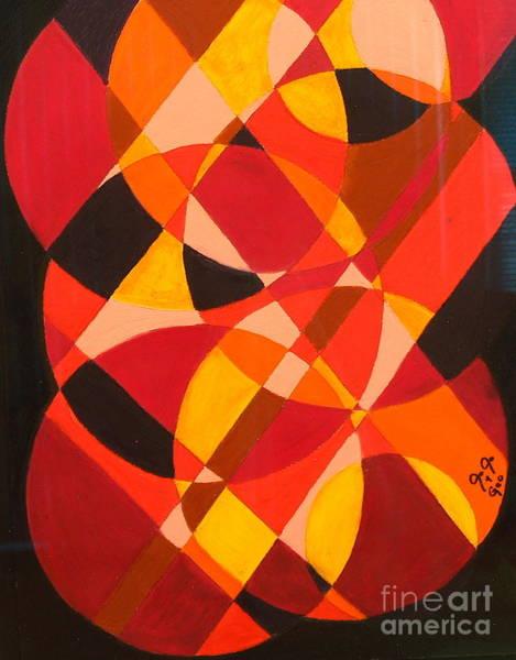 Entangled Painting - Circles Of Life by Jodi Hite